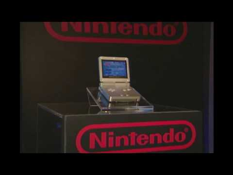 Game Boy Advance SP Unveil Newsfeed B-Roll (2003): Game Tapes RAW
