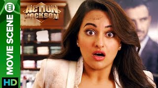 Sonakshi Sinha see's the unwanted   Action Jackson