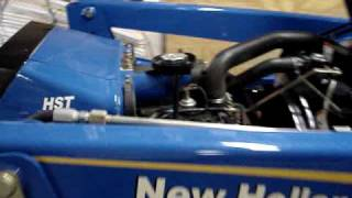 9. new holland T1510 cold start