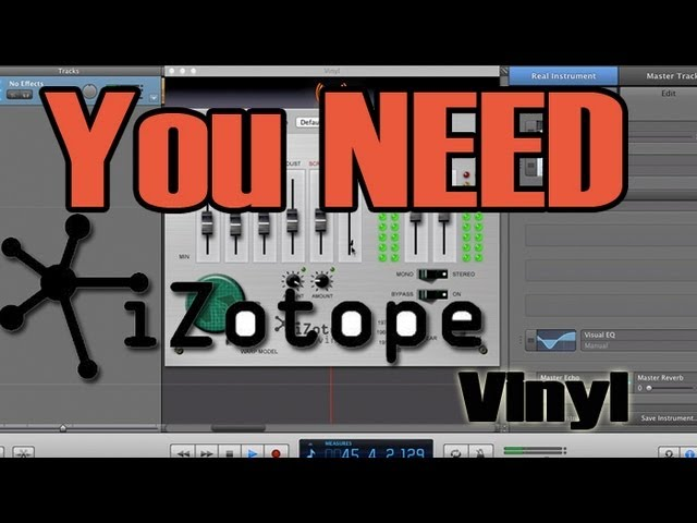 You Need This Plug-In #2 - Izotope Vinyl