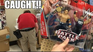 EMPLOYEE HIDES WWE WRESTLING FIGURES FOR SCALPERS AT TARGET!