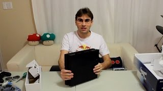 UNBOXING PLAYSTATION 4 - PS4 FINALMENTE!!!