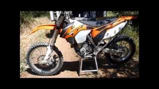 2. 2013 KTM 350 xc-f Review
