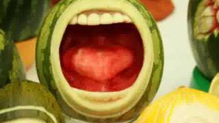 Water Melon Art - YouTube