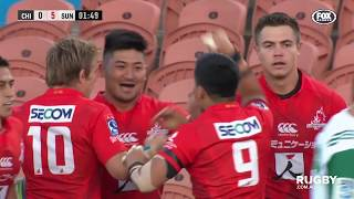 Chiefs v Sunwolves Rd.3 2019 Super rugby video highlights | Super Rugby Video Highlights