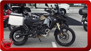 1. 2016 BMW F 800 GS Adventure Motorcycle Review