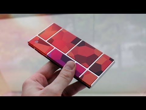 Motorola Project Ara & Phonebloks Prototype - Hands On - YouTube