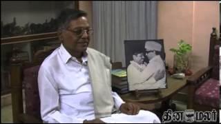 Panruti Ramachandran Retires From Politics - Dinamalar Dec 10th 2013 Tamil Video News