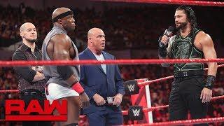 Video Brock Lesnar's contractual negotiations hit a snag: Raw, June 25, 2018 MP3, 3GP, MP4, WEBM, AVI, FLV Juli 2018
