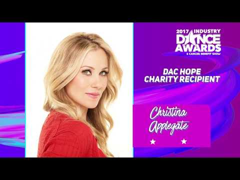 Christina Applegate Receives $100k Donation at Industry Dance Awards