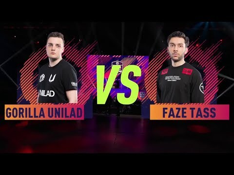 FAZE TASS VS UNILAD GORILLA  FIFA 18 Ultimate Team EWorld Cup