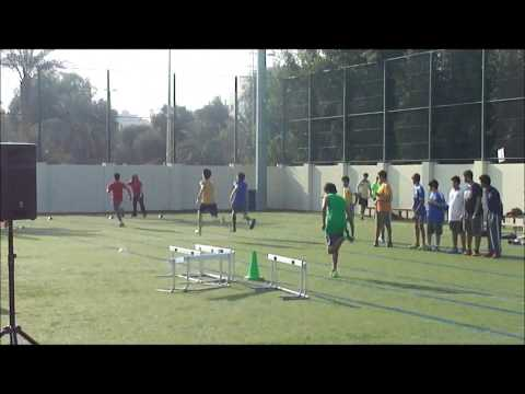 80M Sprint at Al Bateen Secondary School's 2014 Olympics – Sports Day