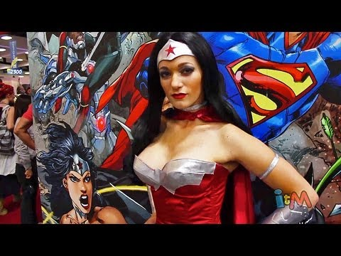 Costumes - Visit http://www.InsideTheMagic.net for hundreds of costume and cosplay photos and more from San Diego Comic-Con 2013! This video offers and up-close look at...