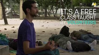 AJ+ Homeless Yoga
