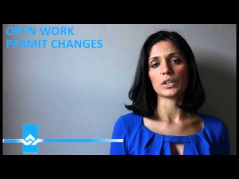 Open Work Permit Changes Video