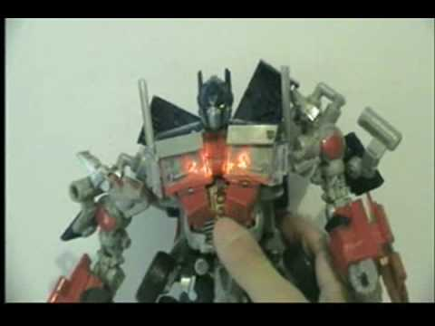 TRANSFORMERS REVENGE OF THE FALLEN LEADER CLASS OPTIMUS PRIME EN ESPAÑOL