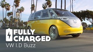 Video VW ID Buzz | Fully Charged MP3, 3GP, MP4, WEBM, AVI, FLV Juni 2019
