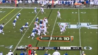Jeff Demps vs Kentucky 2011 vs  (2011)