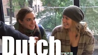 follow me on Twitter https://twitter.com/ShunfuShaufeff In this video I asked people to give their impression of Dutch. Then have them listen to a clip of Dutch from ...
