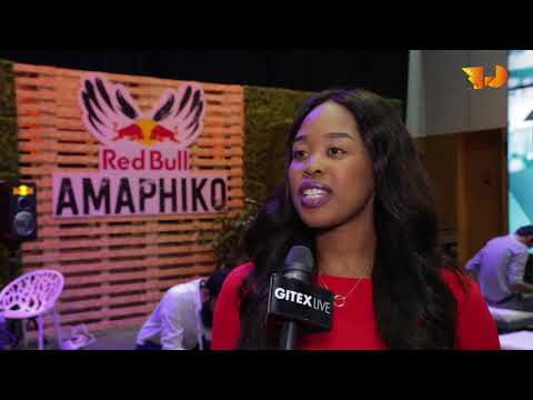 Thato Kgathanye speaks at GITEX Future Stars