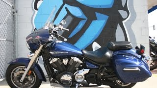 4. 2013 Yamaha VStar 1300 Deluxe ...Low miles, GPS, Stereo ... Great Midsize Bagger!