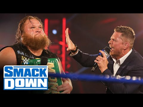 """Otis gets his Mr. Money in the Bank close-up on """"Miz TV"""": SmackDown, May 15, 2020"""