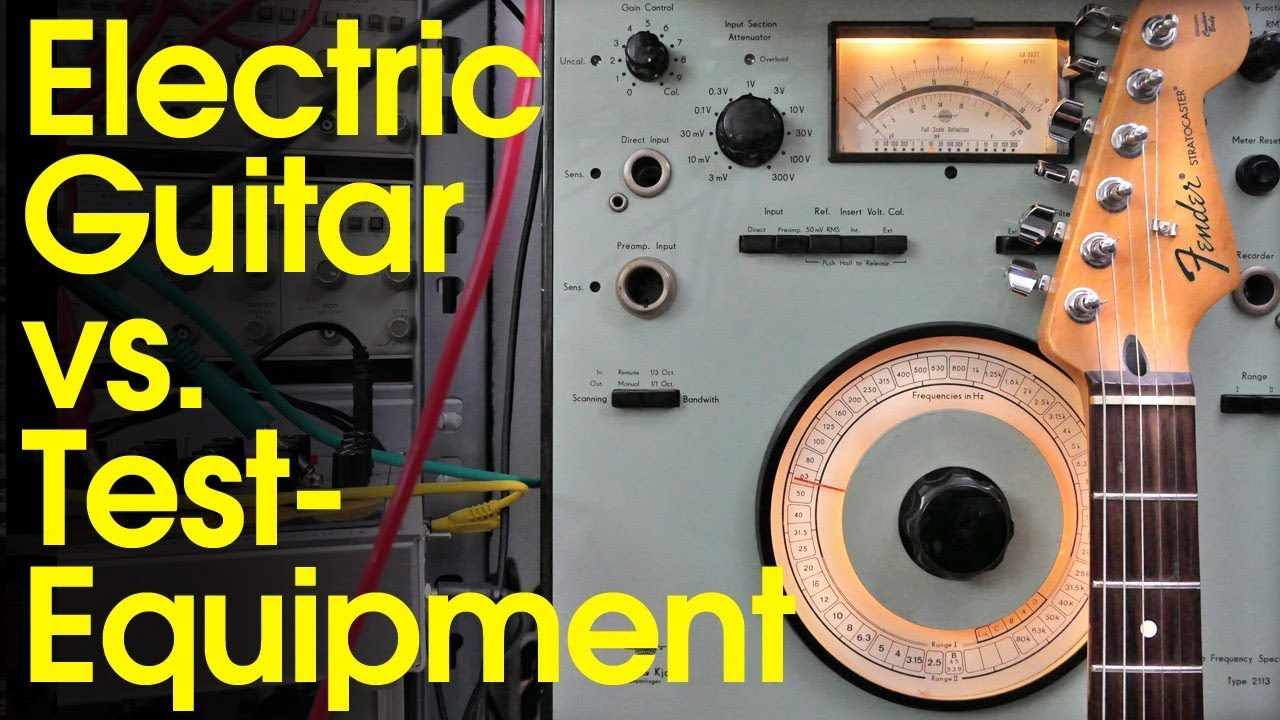 Electric Guitar vs. Test Equipment