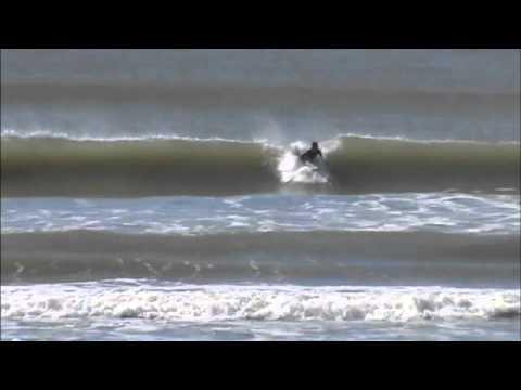 Surf de inverno em Navegantes - julho/2014