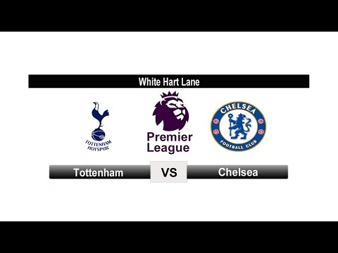 EPL 2016/2017 Round 20 * Tottenham 2 - 0  Chelsea Highlights and All Goals