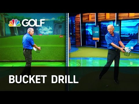 Bucket Drill – Lesson Tee Live | Golf Channel