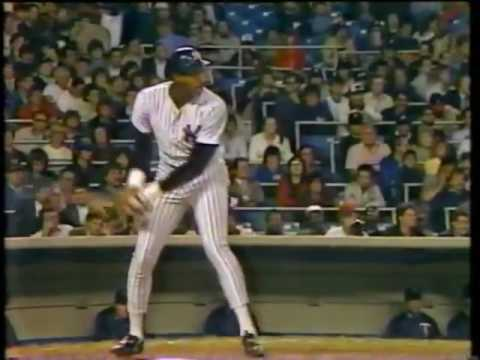 1985 MLB. Minnesota Twins vs New York Yankees