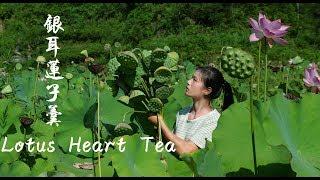 Lotus seeds soup and tea (LianXin Cha).