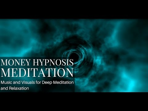 POWERFUL Attract Money Hypnosis Meditation and Meditation Music With a Hidden Trippy Effect