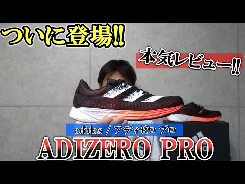 新発売!! adidas adizero pro本気レビュー! 期待に応えるのがアディゼロシリーズでしょ!!【アデ… видео