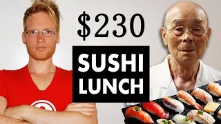 Sukiyabashi Jiro $230 Lunch - BEST sushi in the world