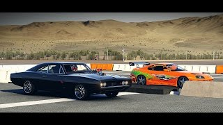 Nonton Forza 6: Fast and Furious - Doms 1970 Dodge CHARGER vs. Brians Toyota Supra | Drag Race Film Subtitle Indonesia Streaming Movie Download