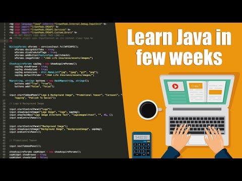 Learn Java In Couple Of Weeks   Java Programming   Eduonix