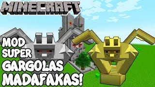Minecraft 1.12 MOD SUPER GÁRGOLAS MADAFAKAS! Gargoyles mod Español!
