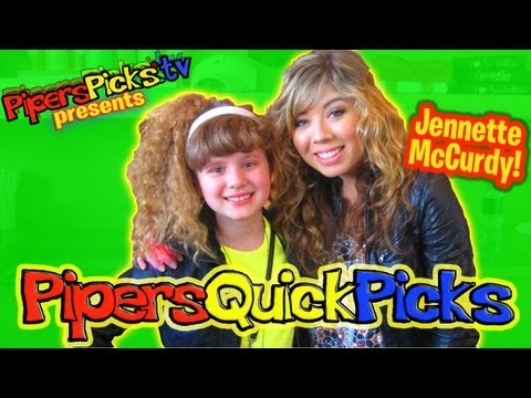 JENNETTE McCURDY (iCARLY Sam) Interview with TWEEN REPORTER PIPER REESE at SPRINKLE'S for ST. JUDE! (PQP #089)