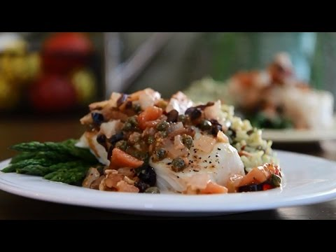 Fish Recipes – How to Make Flounder Mediterranean