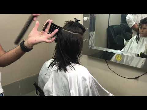 Corte de cabelo - Corte A-line Médio