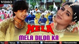 Video Mela Dilon Ka Aata Hai Full Video Song | Mela | Aamir Khan, Twinkle Khanna, Faisal Khan | download in MP3, 3GP, MP4, WEBM, AVI, FLV January 2017
