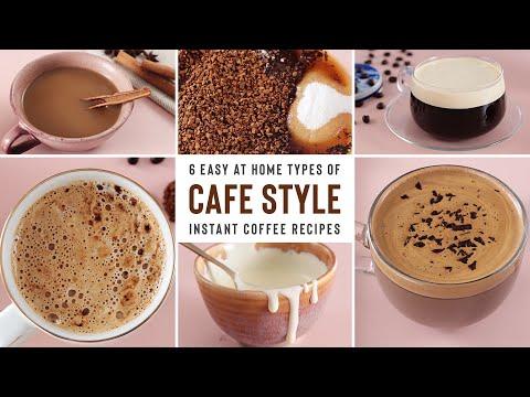 Cafe Style DALGONA Coffee Using INSTANT COFFEE | 6 Delicious Recipes видео