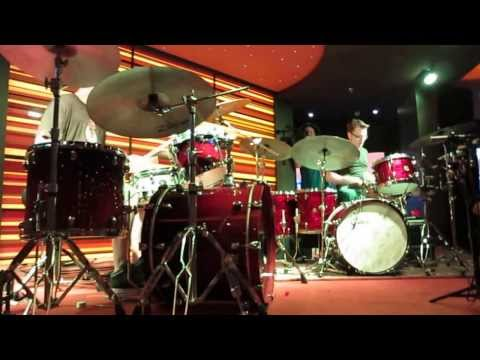 Drum Off - Stanton Moore & Adam Deitch JamCruise 12 2014
