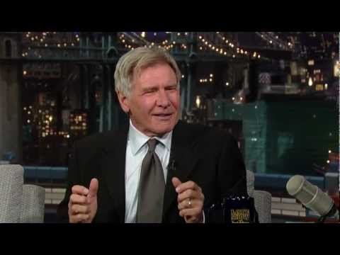 Harrison Ford tells a broccoli joke.