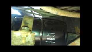 Changing The Fuel Filter On A Jeep Wrangler