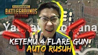 Video KETEMU 4 FLARE GUN AUTO RUSUH! - PUBG Mobile Indonesia MP3, 3GP, MP4, WEBM, AVI, FLV Maret 2019