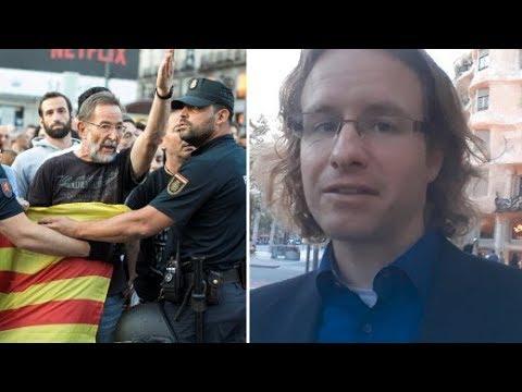 Proteste in Katalonien: