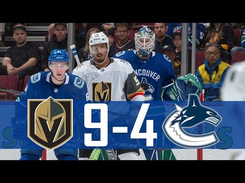 Canucks vs Golden Knights | Pre Season | Highlights (Sept. 17, 2017) [HD]