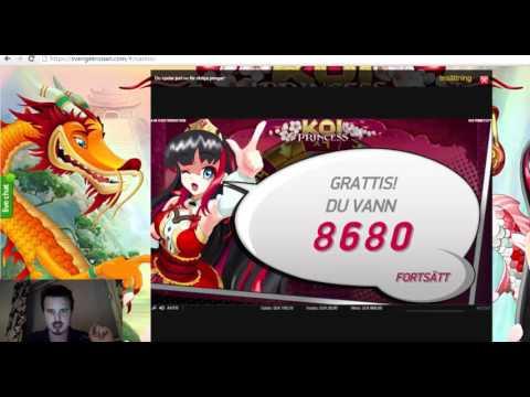 Koi Princess - Insane tripple bonus comeback from the last spin